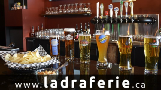 Bar and nightclub, billiards, Pizza - Chips - Nachos, Large selection of beers, Video lottery, Chicken wings, Dance floor, 4 to 7, Professional DJ in Saint-Jérôme