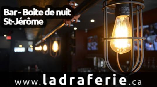 Bar et boîte de nuit, billard, Pizza - Chips - Nachos, Large choix de bières, Loterie vidéo, Ailes de poulet, Piste de danse, 4 à 7, DJ professionnel à Saint-Jérôme